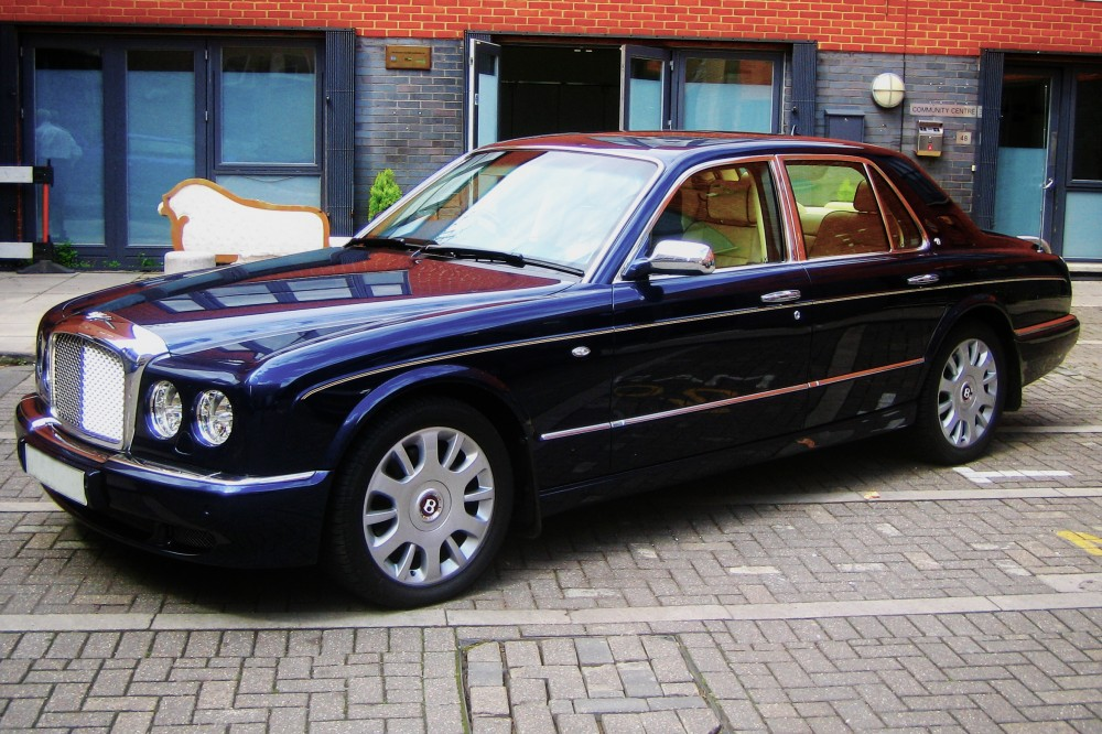 bentley arnage royal blue