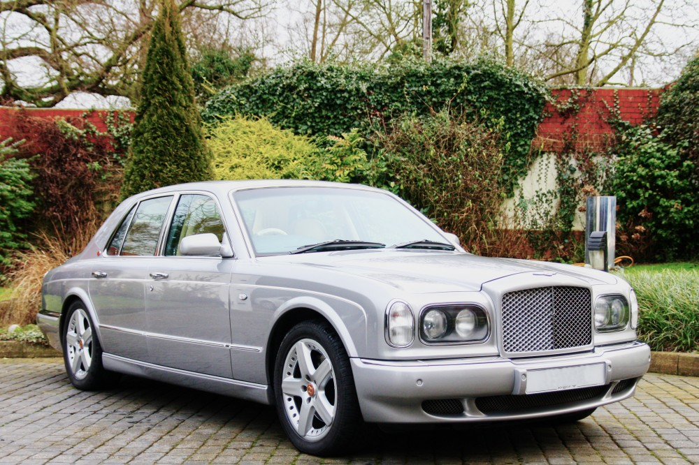 bentley arnage silver