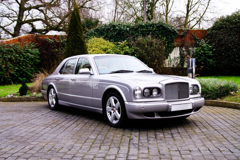 bentley arnage1 silver